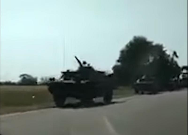Rusia, acuzată că a trimis blindate la graniţa cu Moldova. Reacţia Kremlinului