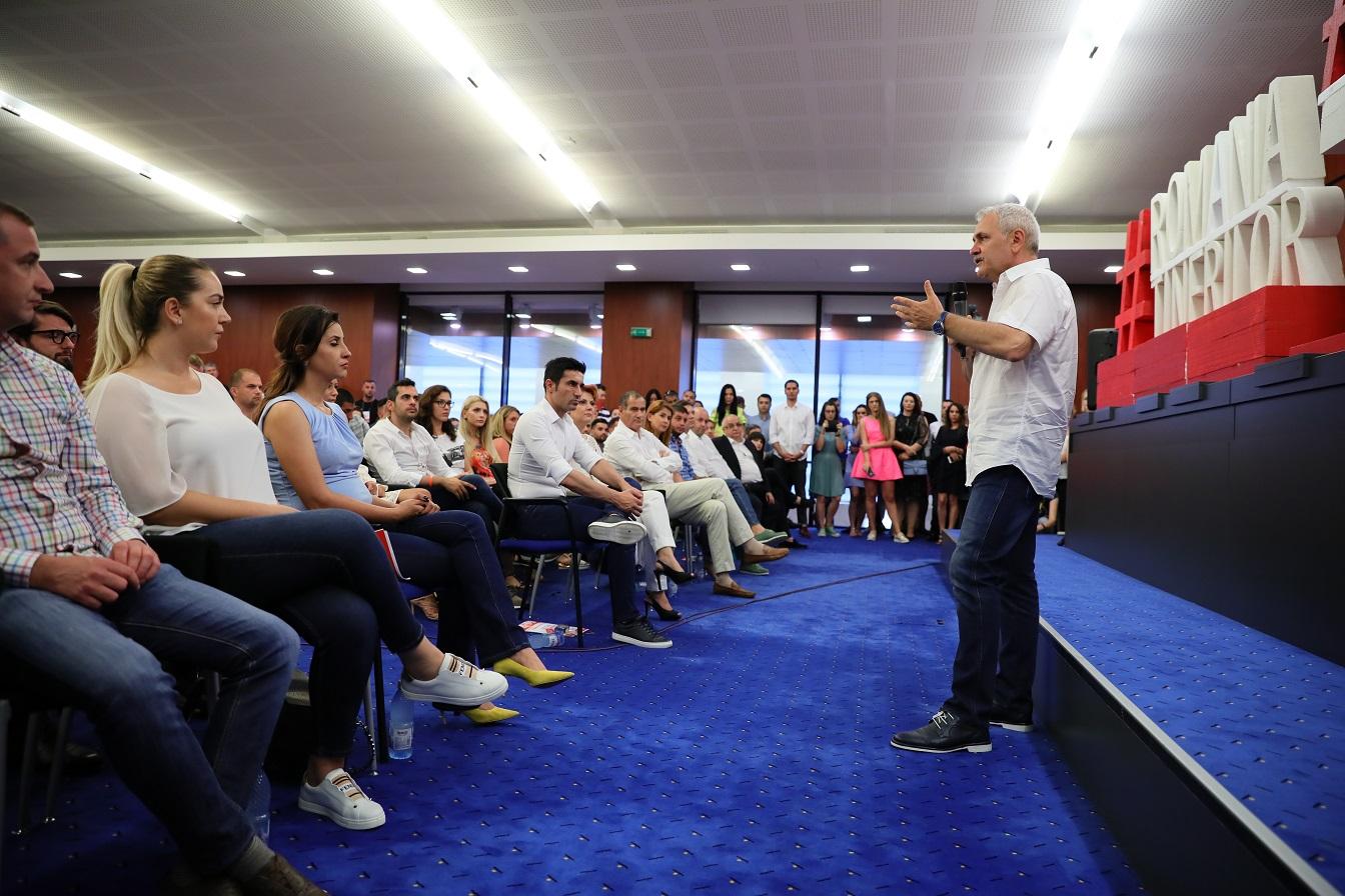 Dragnea le-a explicat tinerilor din PSD cum a făcut