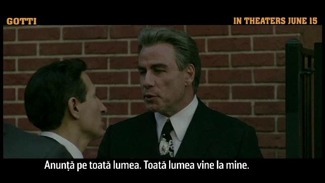 John Travolta, ajutat de copiii mafiotului Gotti, pentru portretizarea tatălui lor, într-un nou film