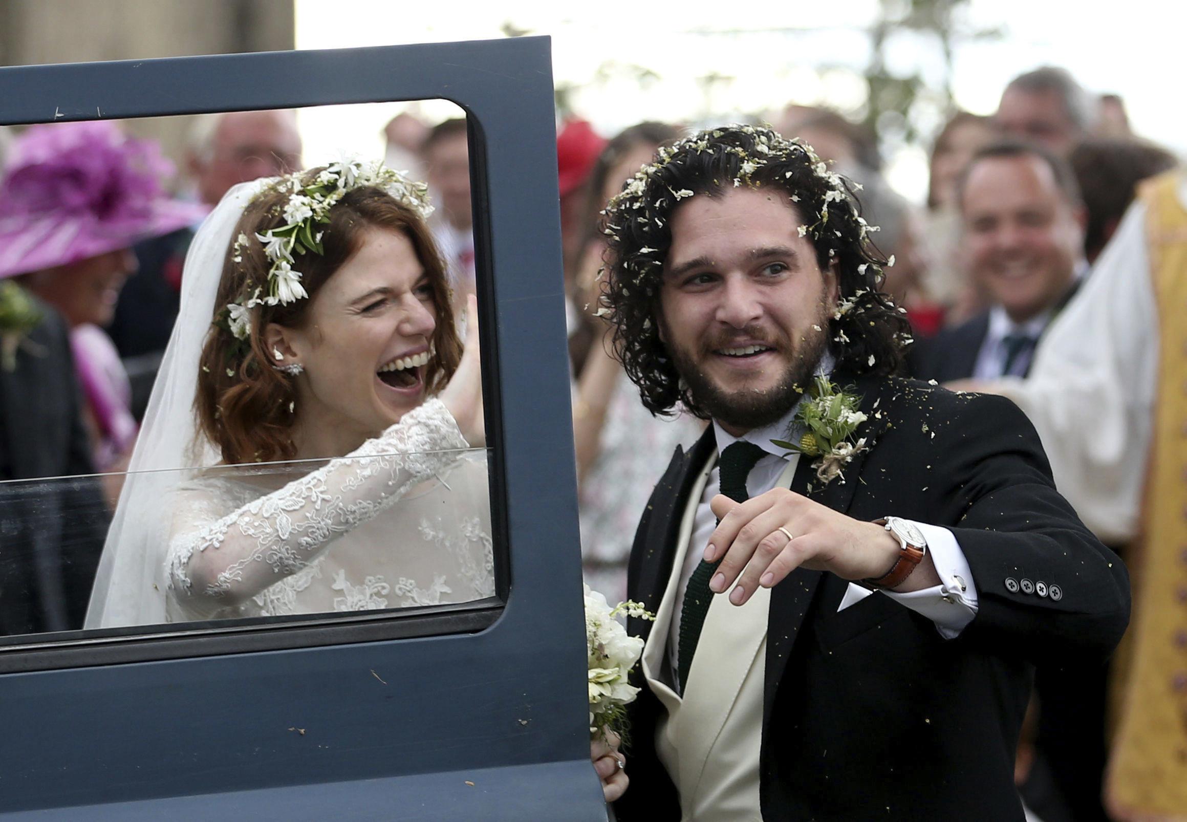 """Jon Snow"" și ""Ygritte"" din Game of Thrones s-au căsătorit"