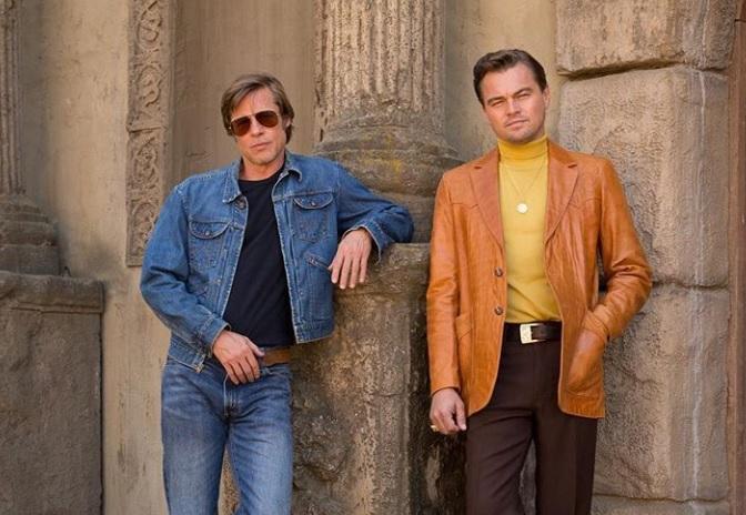 Di Caprio, prima imagine cu Brad Pitt pe platourile de la noul film