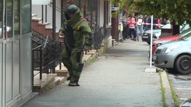 Operațiune de amploare după găsirea unei valize suspecte în Pitești. Cine o uitase pe stradă