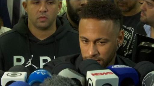 Reacția lui Neymar, audiat la poliție, după acuzația de viol. Sponsorii s-au speriat
