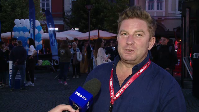 Pavel Bartoș a debutat ca regizor la TIFF. Reacția spectatorilor la