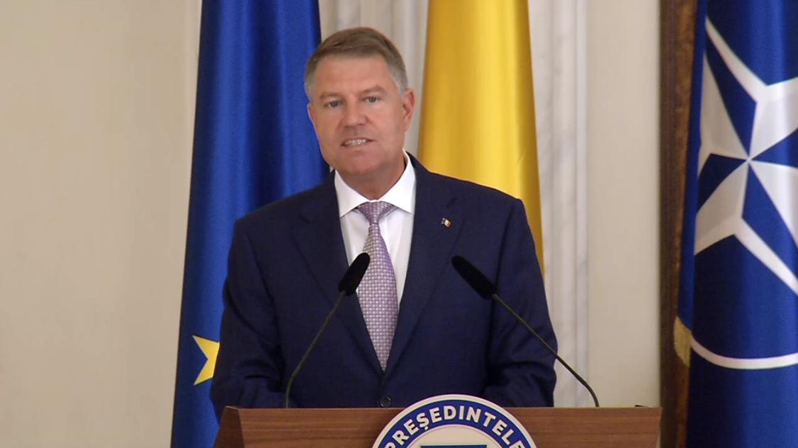 Iohannis, la semnarea Acordului Politic Naţional: Românii au votat contra atacului nemernic, PSD-ist, asupra Justiției