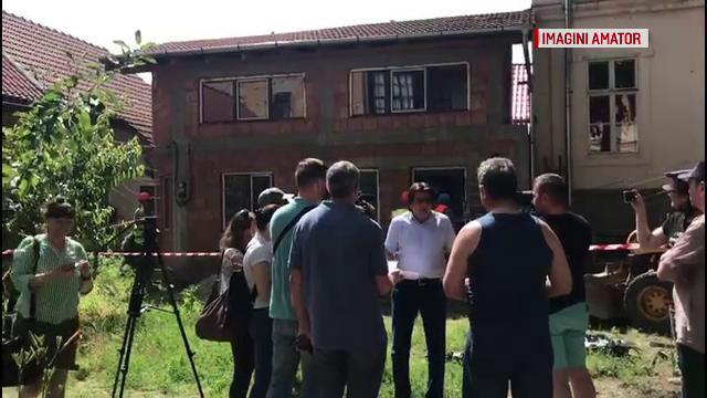 Demolare în forţă în Timișoara. O casă fără autorizaţie a fost distrusă. Reacția proprietarului