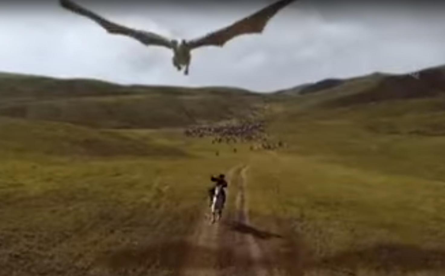 Apropiat de-ai lui Putin, într-o scenă cu dragoni din Game of Thrones. Cum a fost posibil