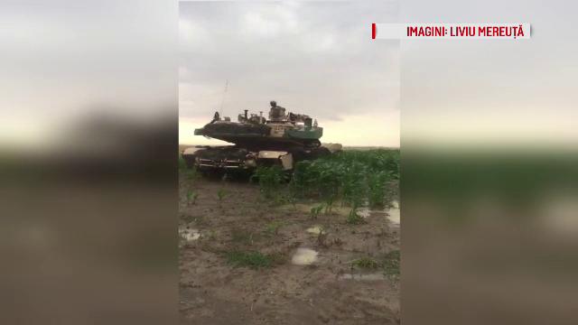 Reacția proprietarului terenurilor distruse de tancuri americane. Dezastrul a durat 4 ore