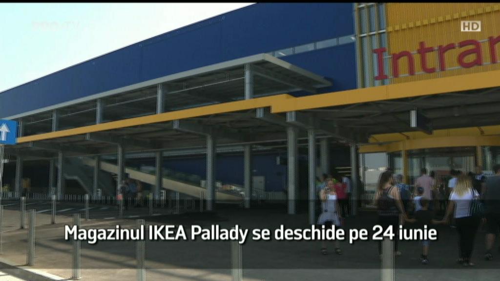(P) Magazinul IKEA Pallady se deschide pe 24 iunie