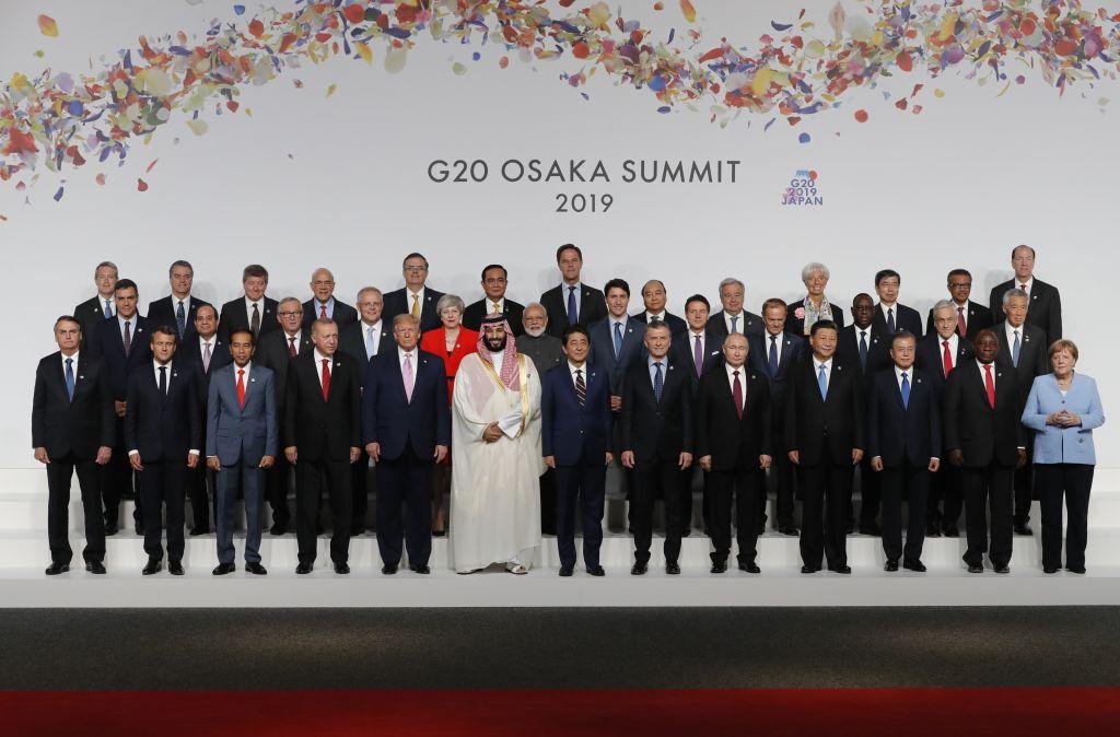 Summitul G20 a început vineri la Osaka. Tensiunile între SUA și China, principalul subiect