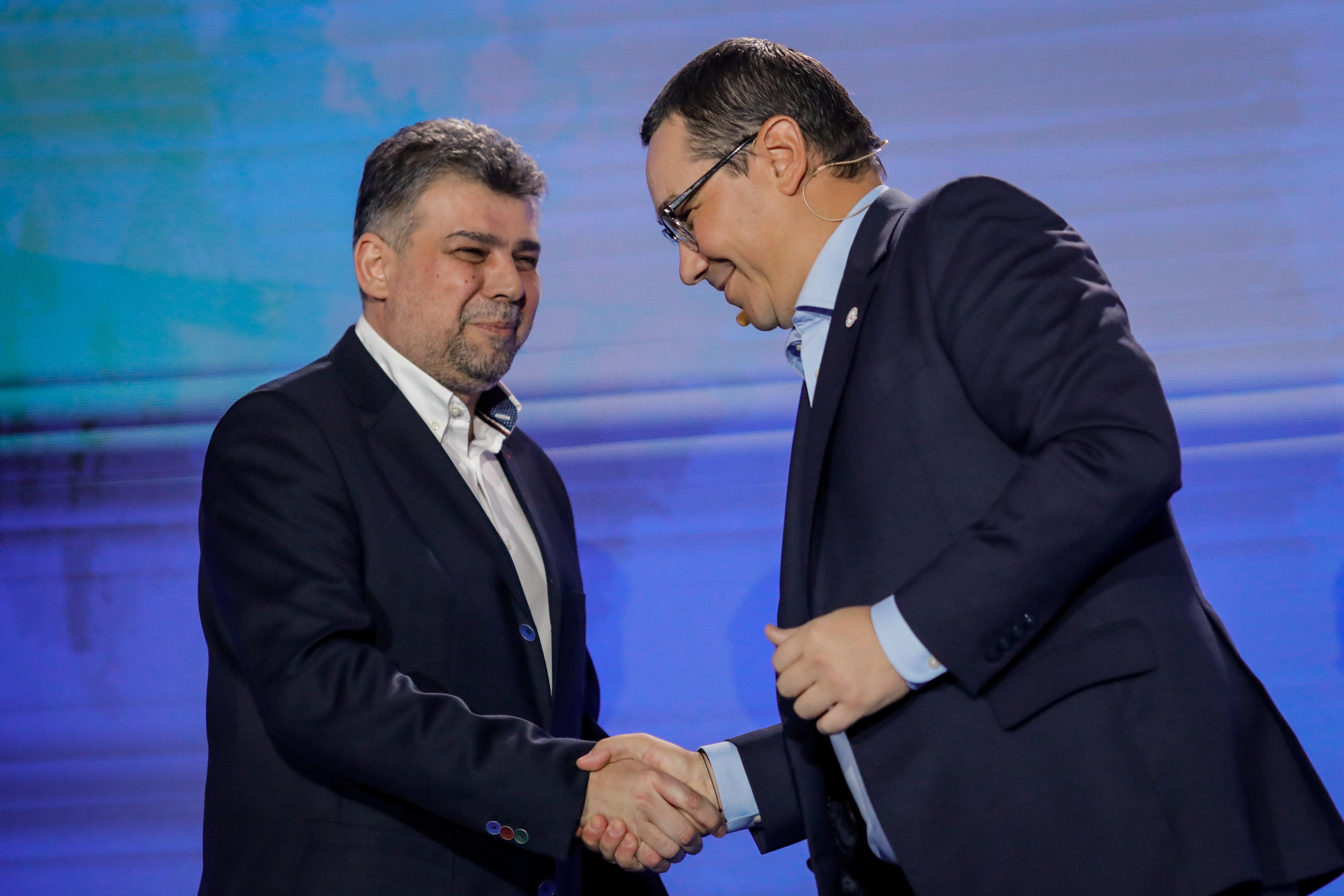 """Marcel Ciolacu a bătut palma cu Victor Ponta: """"Acum câteva zile am semnat"""""""