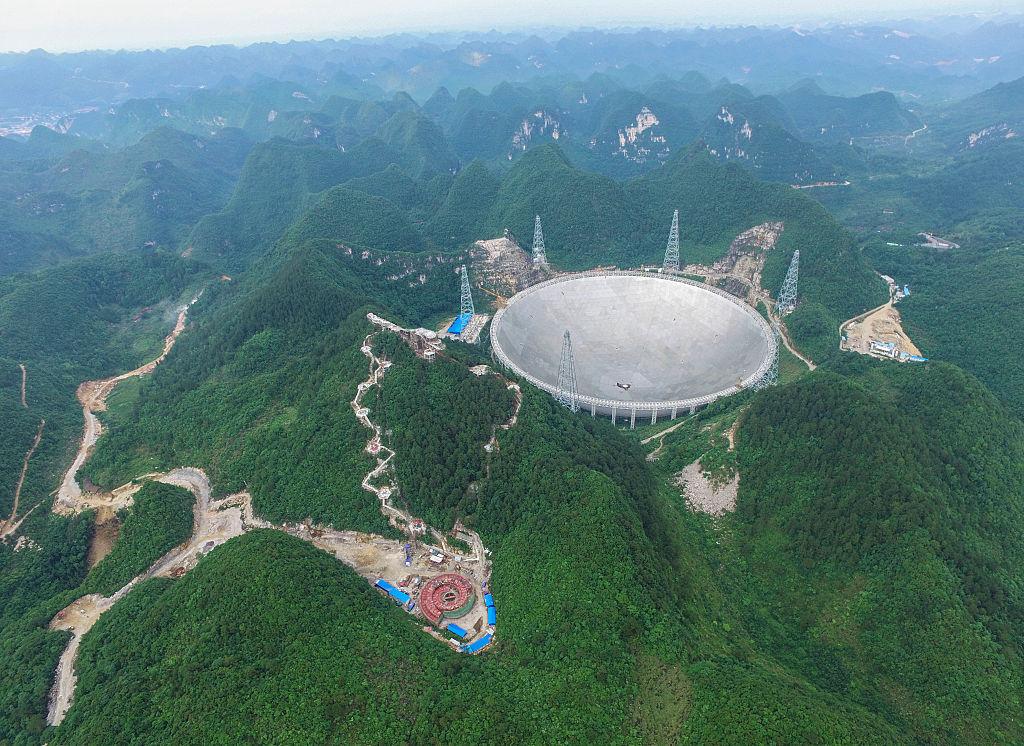 Cel mai mare telescop radio construit vreodată va începe să cerceteze Universul. GALERIE FOTO inedită