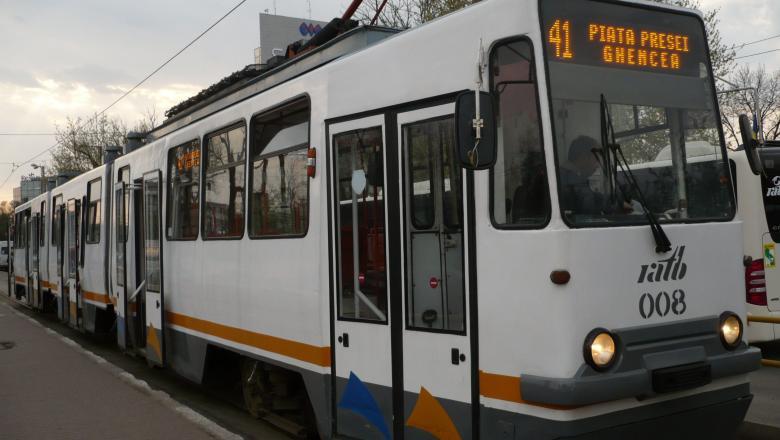 Linia 41 de tramvai va fi suspendată în perioada 14-18 octombrie. Ce trebuie să știe călătorii