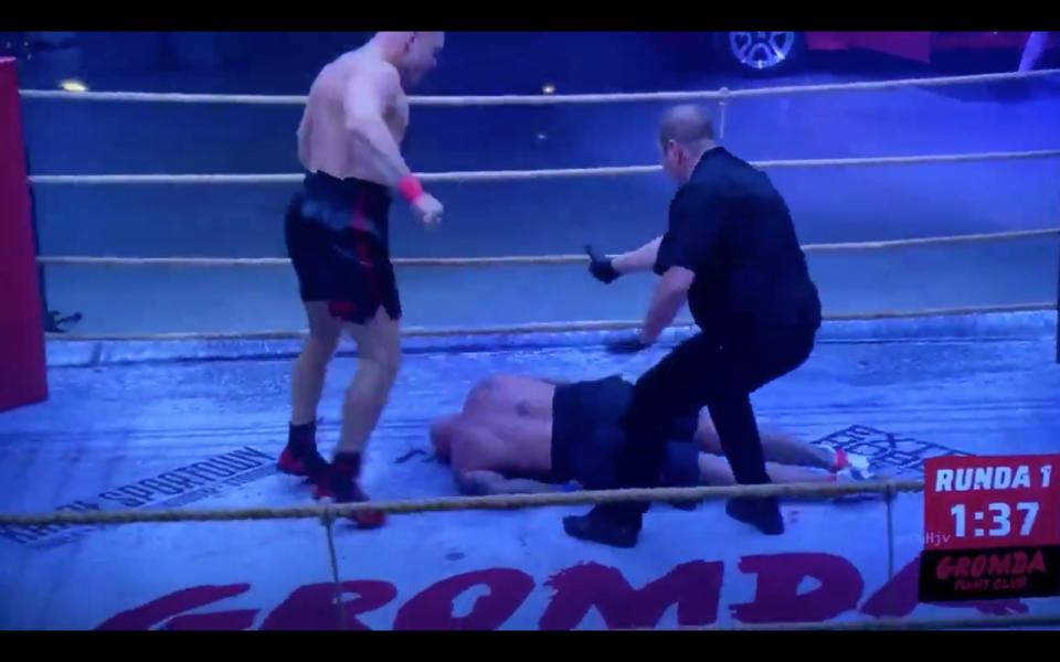 Clipe de groază în ring. Tyson din Polonia era să își omoare adversarul