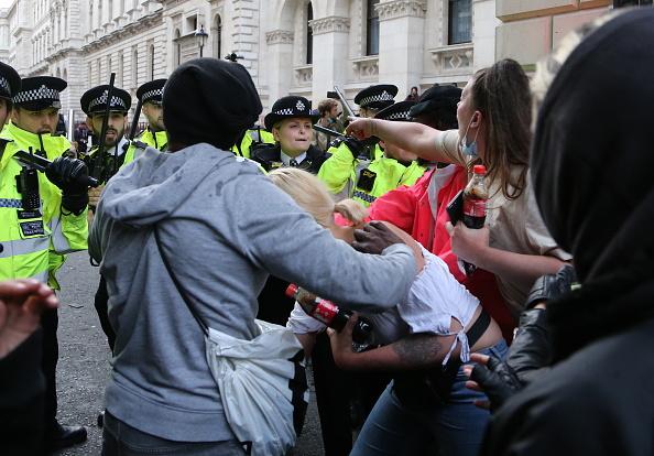 Moment inedit. Cum a fost surprinsă Madonna la protestele din Londra