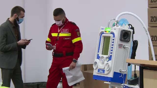 Ventilatoarele din depozitele Unifarm, trimise la spitale. 396 au fost transferate prin hotărâre DSU
