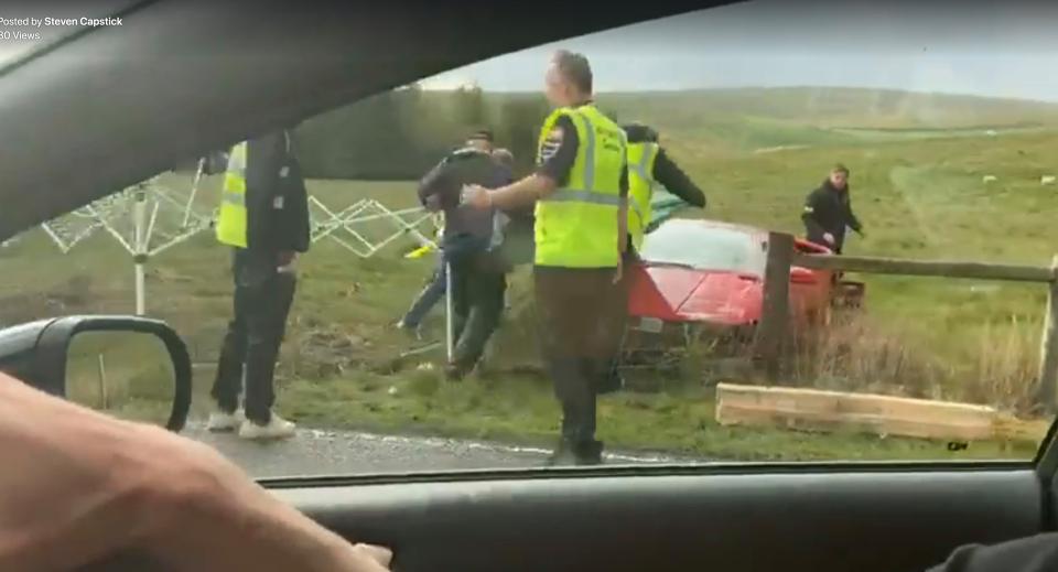 VIDEO. Prezentator Top Gear, la un pas de moarte. A facut accident cu un Lamborghini de 280.000 €