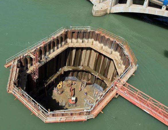 Video. Cum sunt construite podurile peste apă. Tehnica incredibilă care stă în spatele reușitei