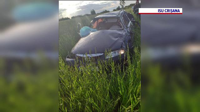 Accident grav în Bihor. Un băiat de 14 ani a murit, alte patru persoane au fost rănite