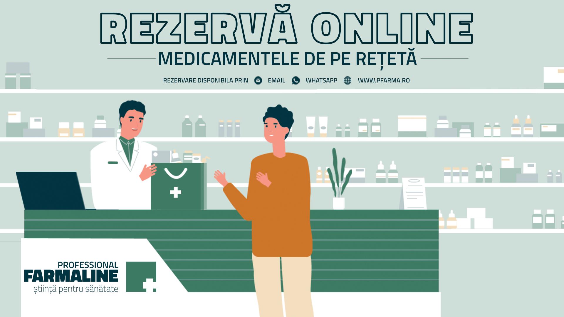 (P) Pfarma.ro - asistentul tău online pentru rezervarea rețetelor de medicamente