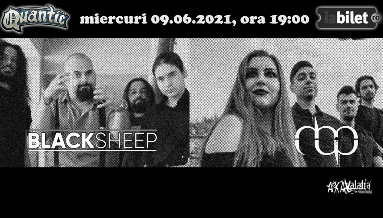 Primul concert de metal underground în București, după restricțiile Covid: Blacksheep și MBP