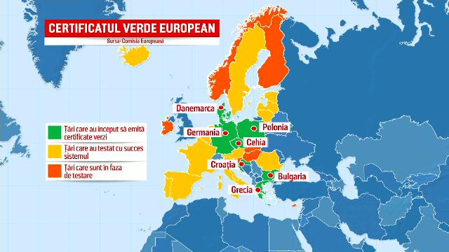 Țările UE au început deja să emită certificate verzi. România stă după parlamentarii care tot amână discuțiile