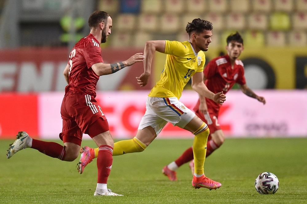 România - Georgia 1-2, într-un meci amical disputat la Ploiești