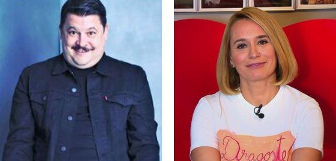 Andreea Esca și Mihai Bobonete, provocați să spună ce conține pentru ei vaccinul anti-COVID