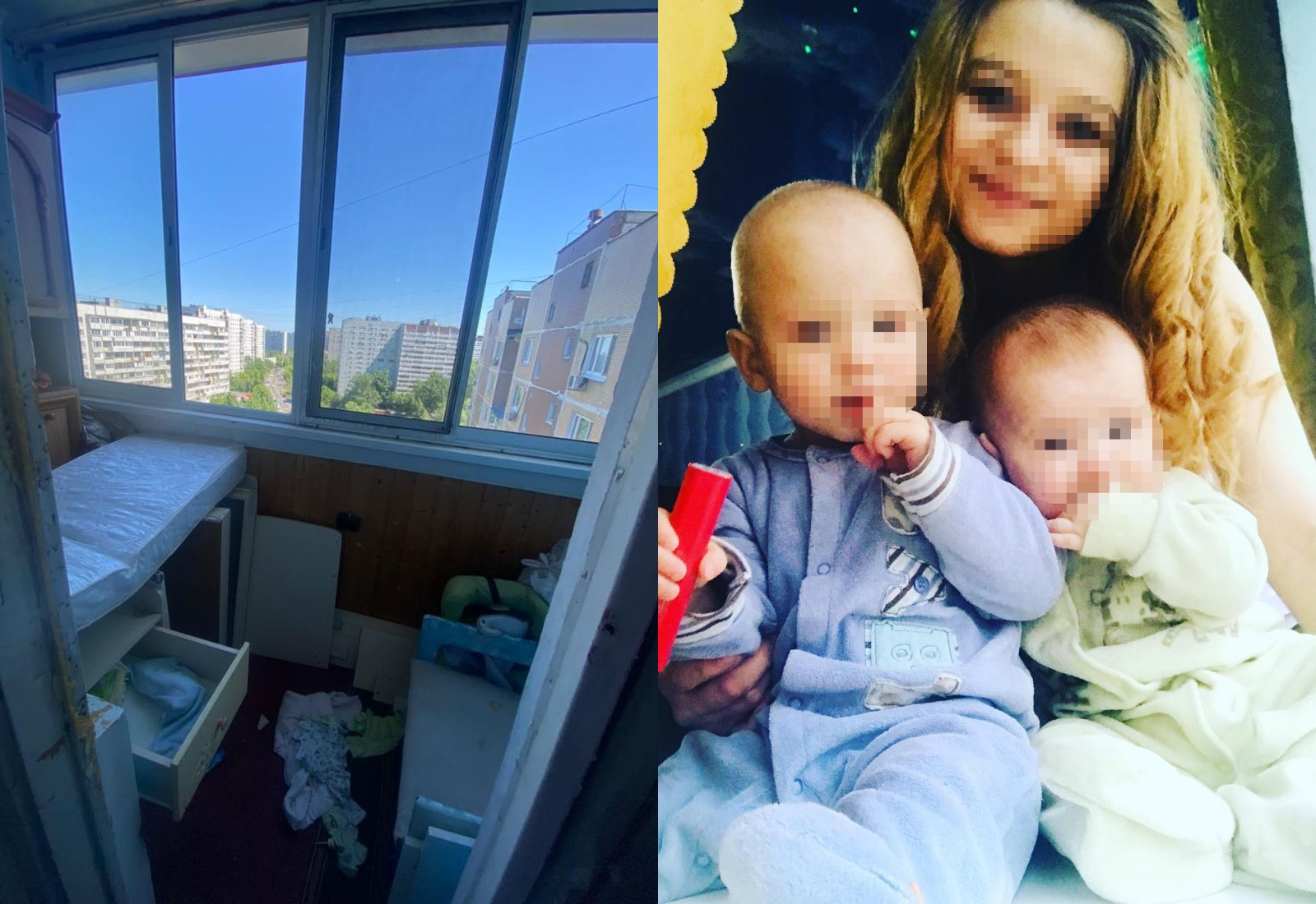 Un copil a căzut de la etajul 14 al unui bloc din Rusia. Mama micuțului era în casă, beată