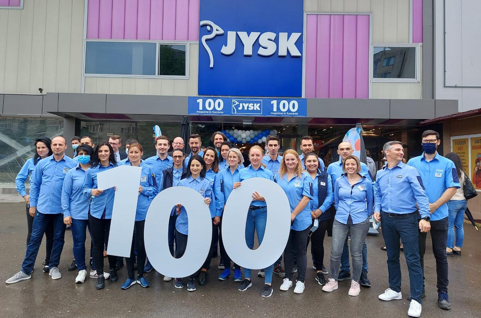(P) JYSK ajunge la 100 de magazine în România. Obiectivul retailerului este de a-și dubla numărul de magazine