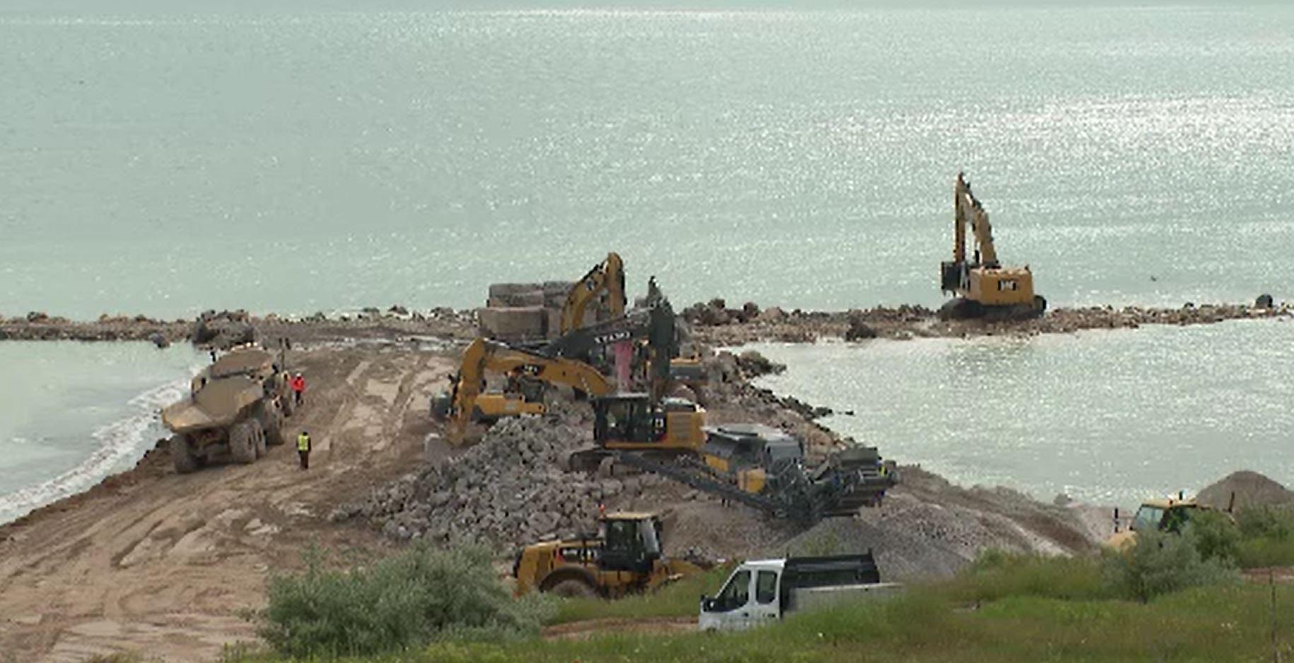 Extinderile plajelor de pe litoral intră într-o nouă etapă. Ce planuri au autoritățile