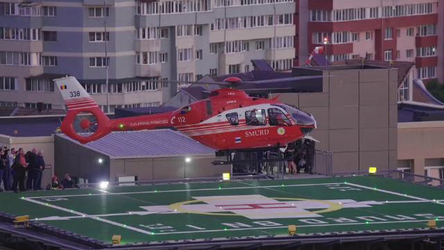 Al treilea heliport din țară, construit pe acoperișul unui spital, va fi folosit în curând. Ce sumă a fost investită