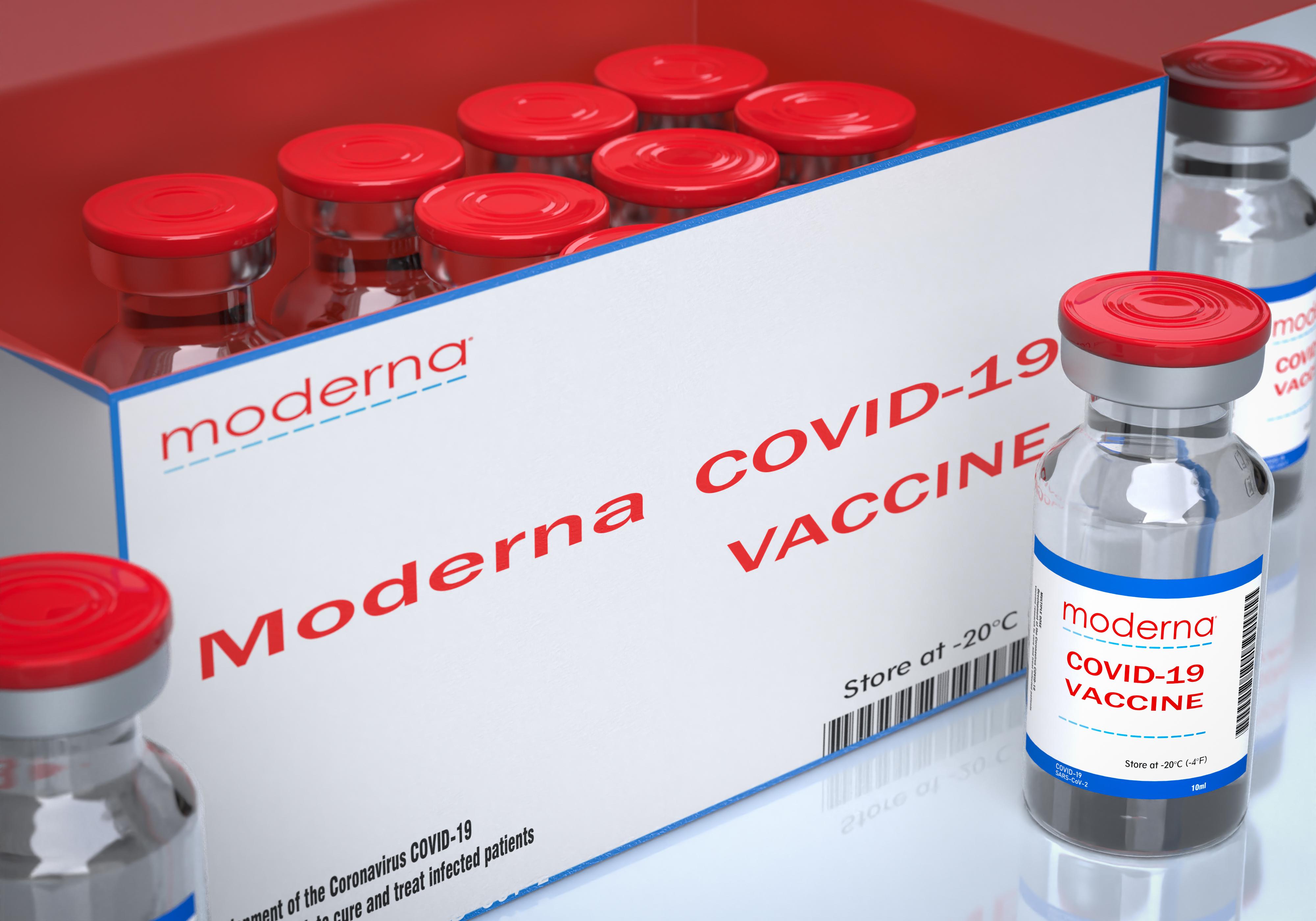 O nouă tranşă de vaccin anti-COVID-19 de la Moderna ajunge vineri în România