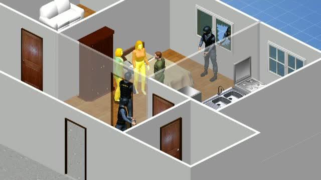 Orbit de gelozie, un bărbat din Craiova şi-a sechestrat soţia şi soacra în apartament
