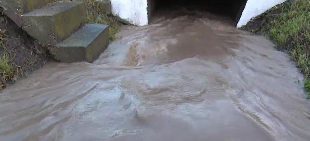 Dezastru în Dâmbovița, după o ploaie torențială. Mai multe gospodării au fost inundate