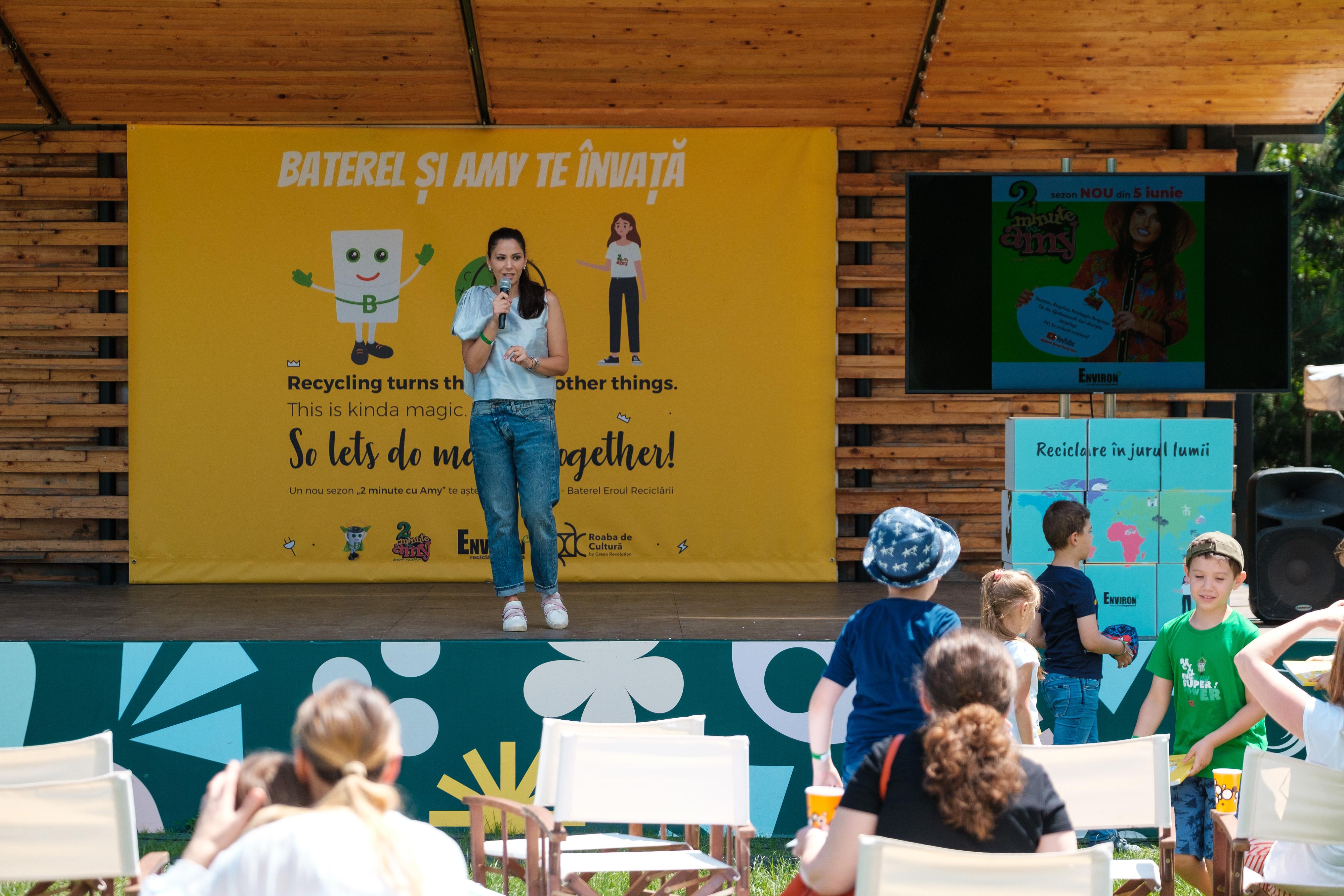 """(P) Environ lansează ghidul """"Baterel și Amy te învață"""" – o carte despre reciclarea corectă a deșeurilor"""