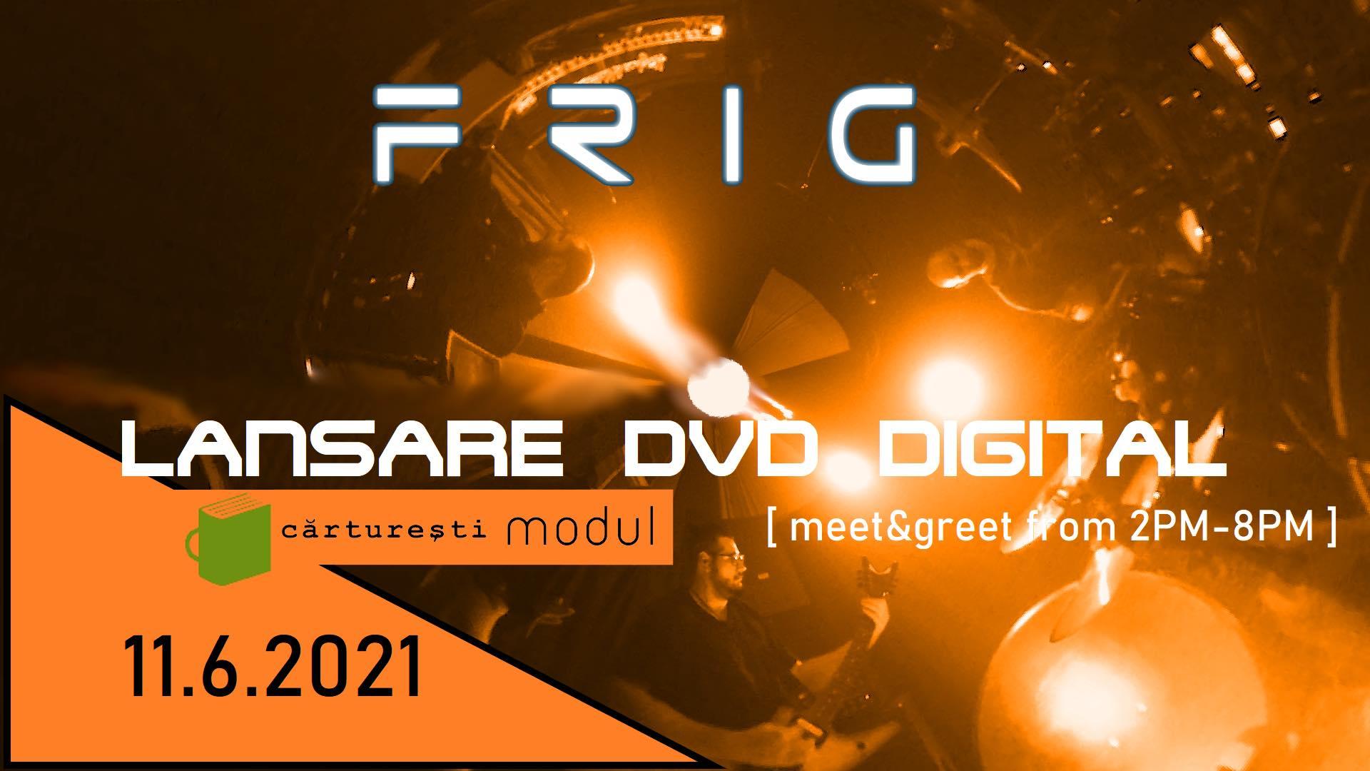"""Trupa bucureșteană FRIG lansează un """"DVD digital"""" în librariile Cărturești, cu un cod QR"""