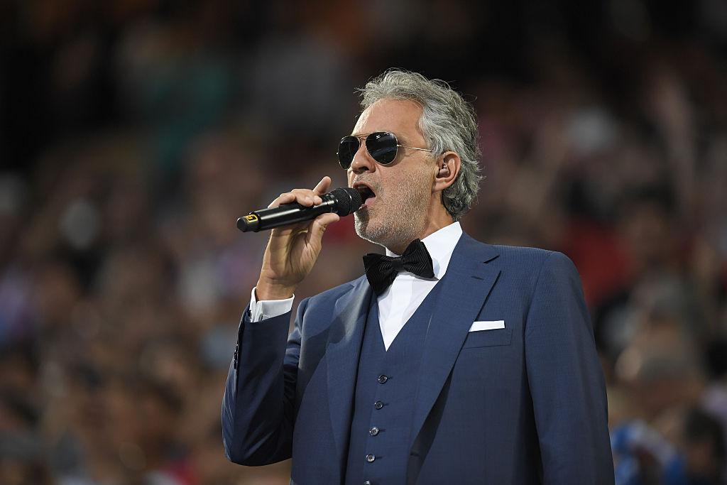 Andrea Bocelli va cânta la ceremonia de deschidere a EURO 2020, înainte de partida Turcia - Italia