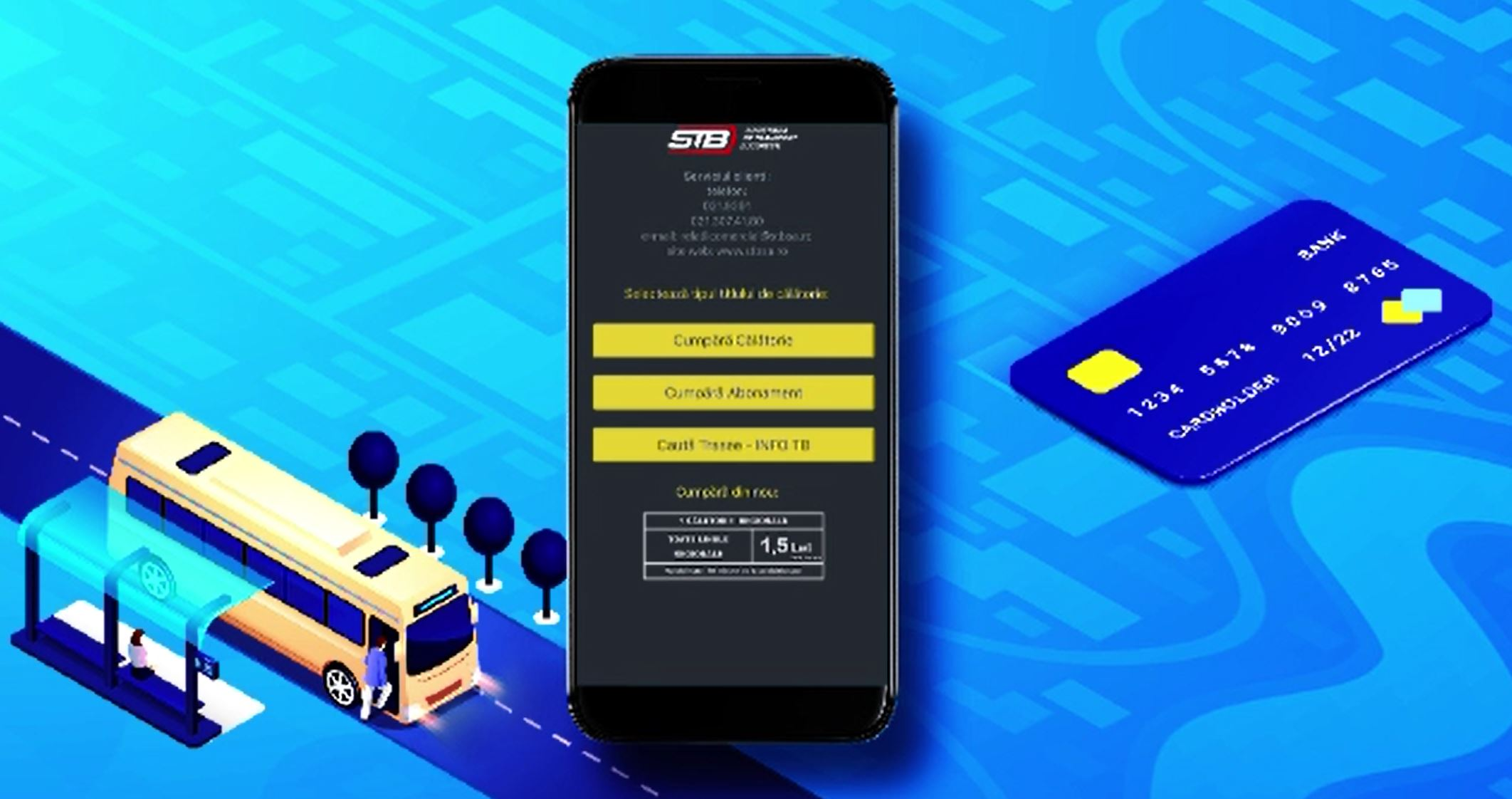 Biletele pentru STB, disponibile și online. Aplicația de unde pot fi cumpărate