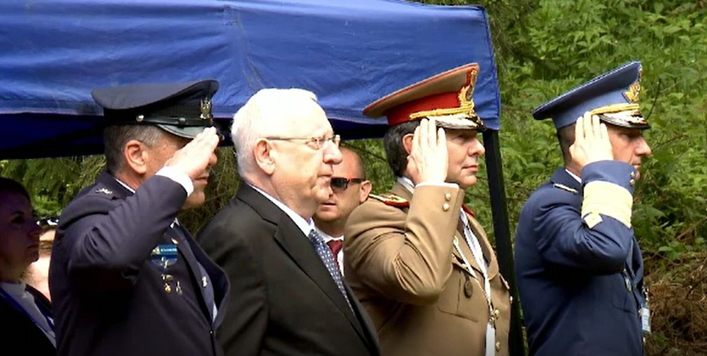 Soldații morți în accidentul aviatic din Bucegi, din 2010, comemorați de președintele Israelului