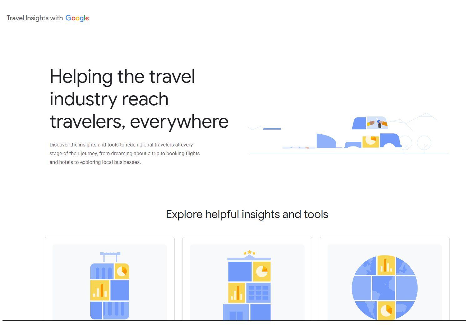 S-a lansat Travel Insights with Google. Care este cel mai căutat oraș din România pentru cazare