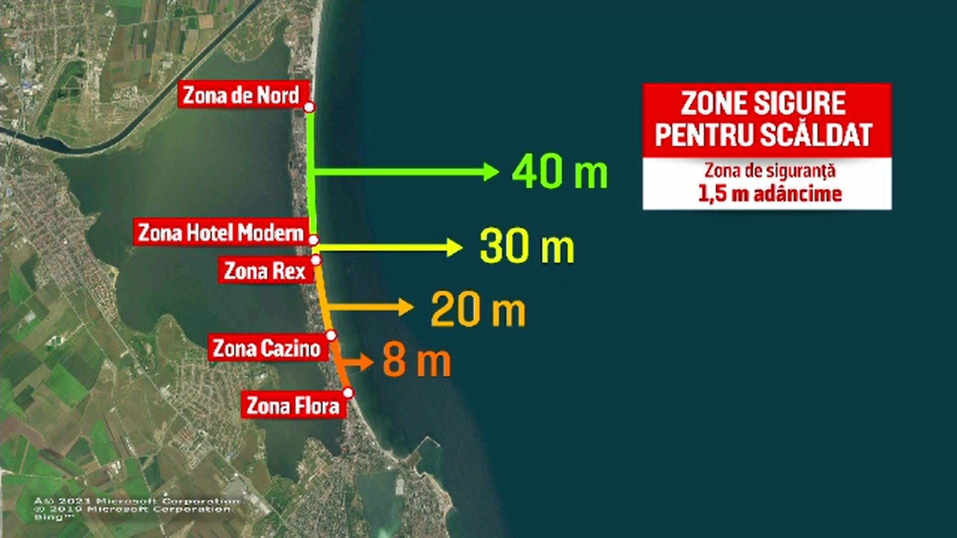 Extinderea plajelor de pe litoralul românesc a schimbat condițiile de scăldat