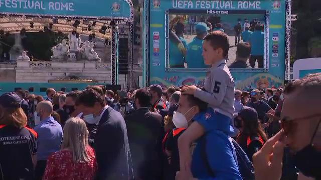 Reîntoarcerea la normalitate începe cu EURO 2020. Suporterii turci din Italia nu l-au uitat pe Hagi