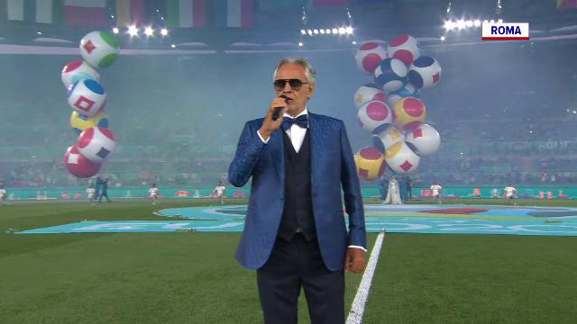 EURO 2020 a început. Spectacol total la ceremonia de deschidere de la Roma