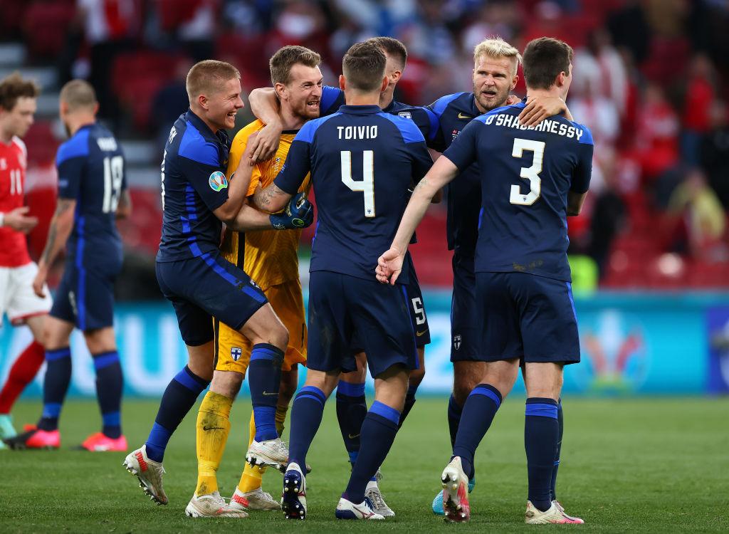 Danemarca - Finlanda, 0-1 la EURO 2020. Debut cu dreptul pentru finlandezi, în primul lor meci la un turneu final
