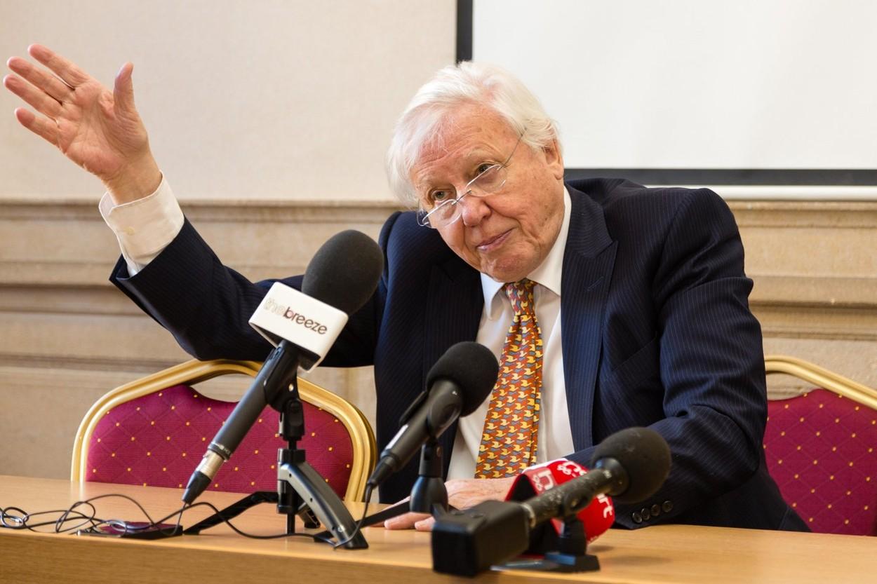 David Attenborough: Liderii G7 se confruntă cu cele mai importante decizii din istorie