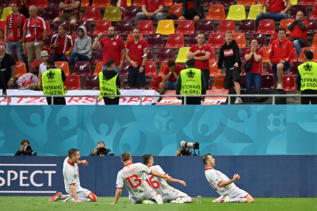 Scandal diplomatic după primul meci găzduit de România la EURO 2020. Macedonia de Nord, reclamată de Grecia la UEFA