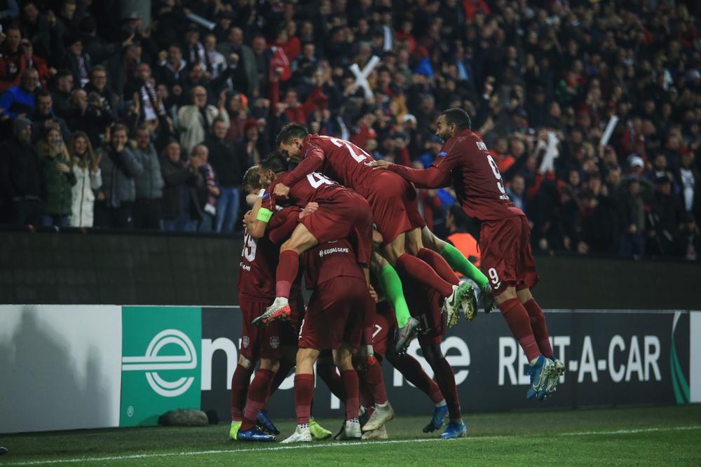 CFR Cluj - Steaua Roșie Belgrad, în play-off-ul Europa League