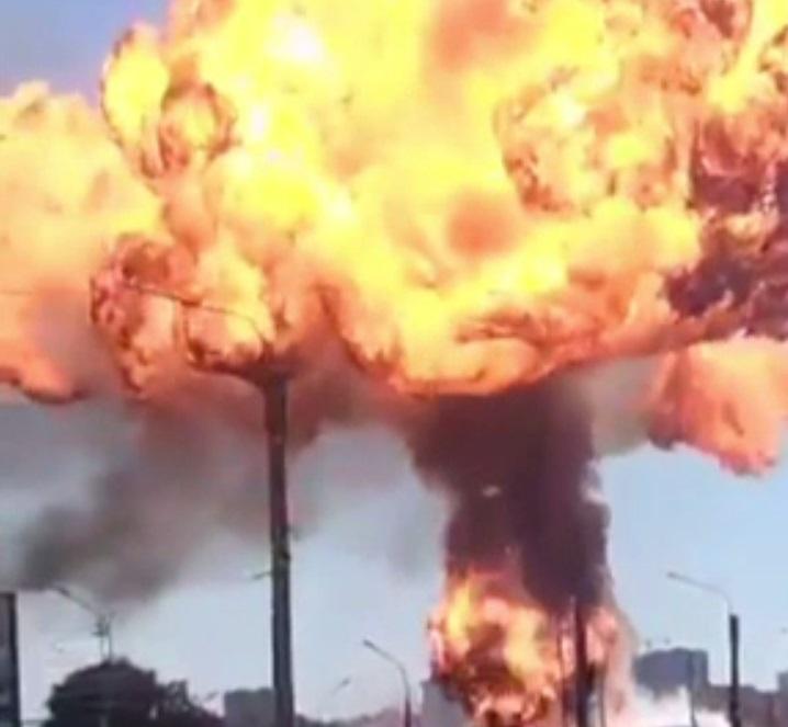 O benzinărie din Siberia a sărit în aer. Cel puțin 16 oameni au fost răniți