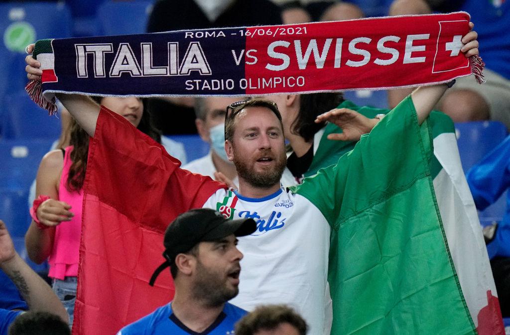 Italia - Elveția 3-0, la EURO 2020. Italia, prima echipă calificată în optimi